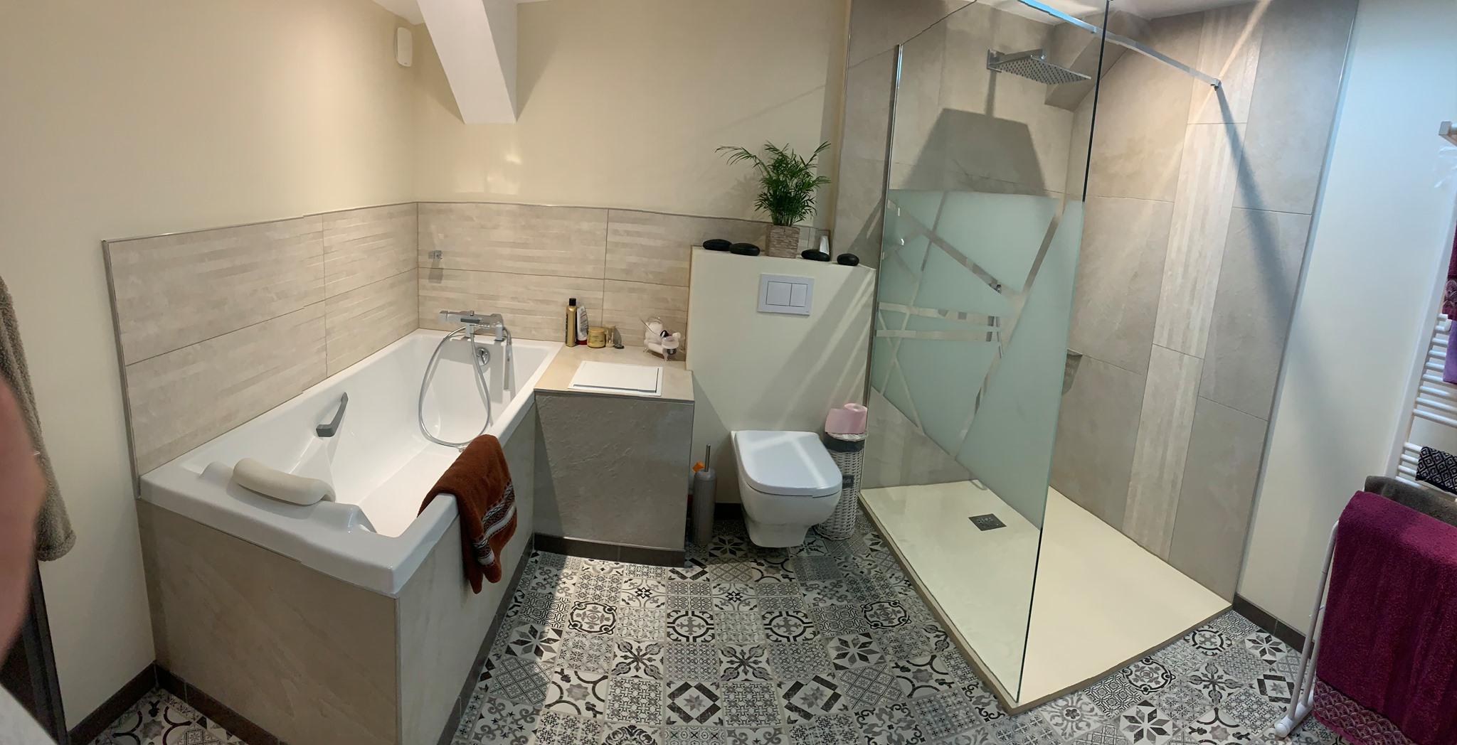 rénovation salle de bain L'Arbresle