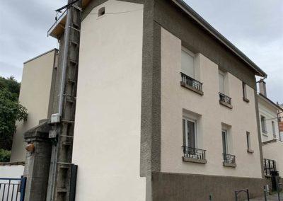 ravalement de façade à Tomblaine